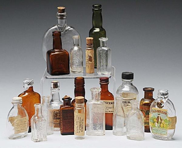 22: Large Lot of Medical Related Bottles.