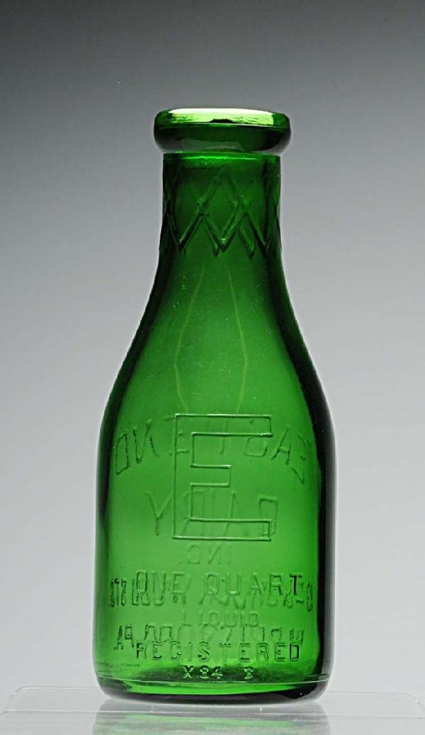 128: East End Dairy Milk Bottle.
