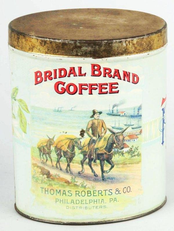 1: Bridal Brand Coffee Can.