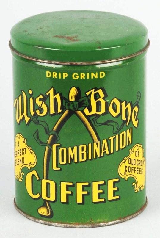 2: Wish Bone 1-Pound Coffee Can.
