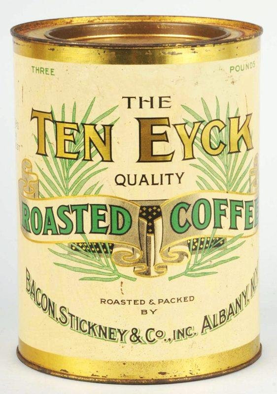 5: Ten Eyck 3-Pound Coffee Tin.