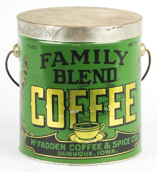 7: Family Blend 4-Pound Coffee Can.