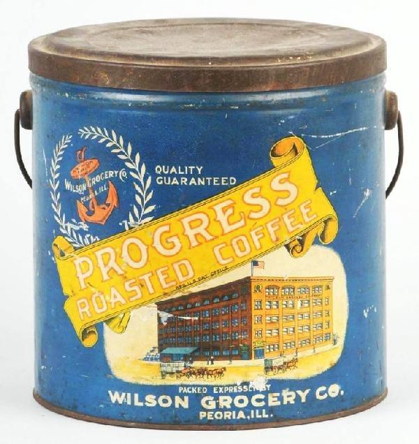 9: Progress 5-Pound Coffee Can.