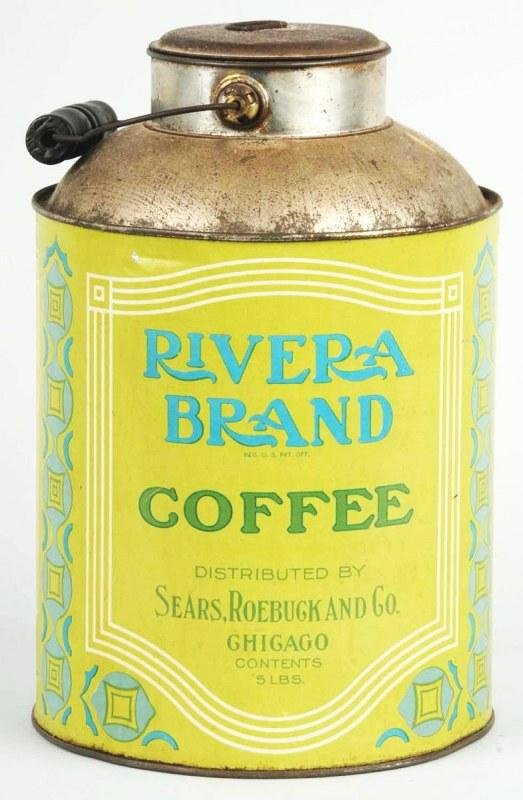 12: Sears Roebuck 5-Pound Coffee Can.