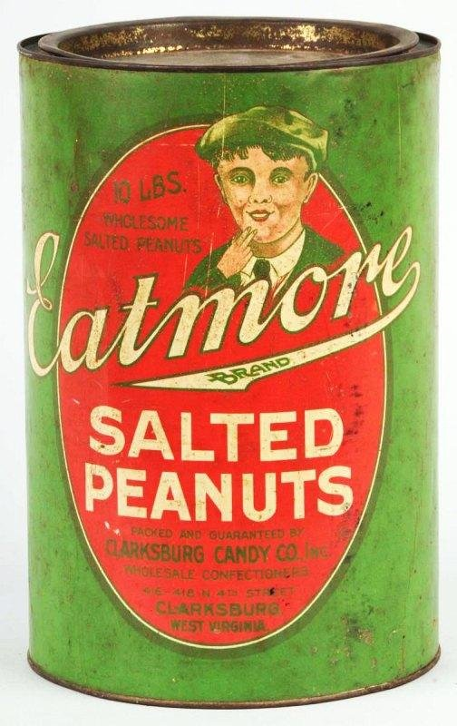 14: Eat More Salted Peanuts 10-Pound Can.