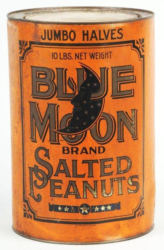 16: Blue Moon 10-Pound Peanut Butter Can.