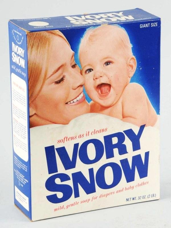 54: Ivory Snow Box featuring Marilyn Chambers.