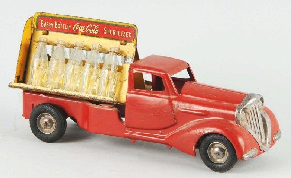 243: Metalcraft Coca-Cola Truck Toy.