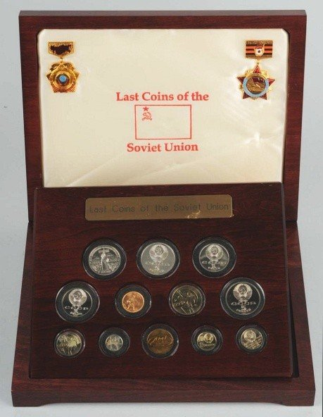 3: The Last Coins of the Soviet Union.