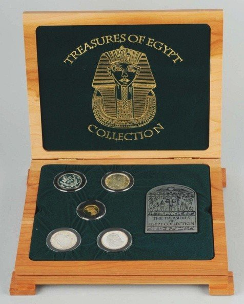 6: Series 1 Treasures of Egypt Collection.