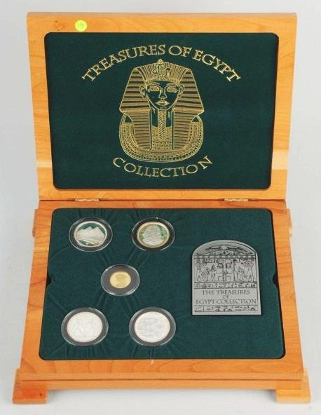 7: Series 1 Treasures of Egypt Collection.