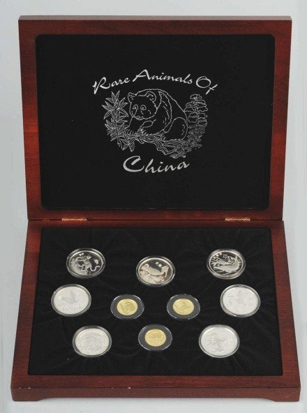 9: Rare Animals of China Collection.