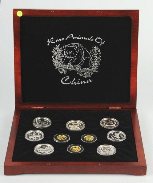 10: Rare Animals of China Collection.