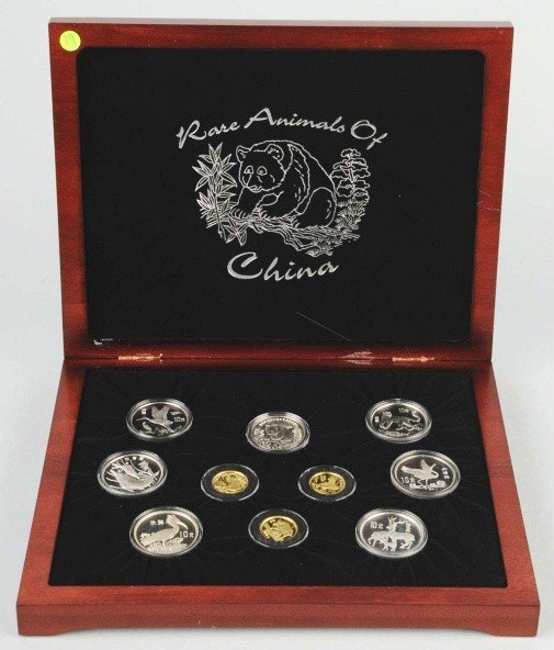 12: Rare Animals of China Collection.
