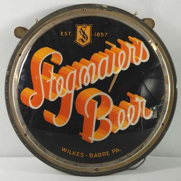 2: Stegmaier's Beer Light-Up Sign.