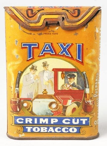 125: Taxi Tobacco Pocket Tin.