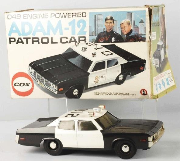 231: Cox Adam-12 Patrol Car Toy.