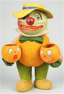 Vegetable Man Candy Container/Lantern.