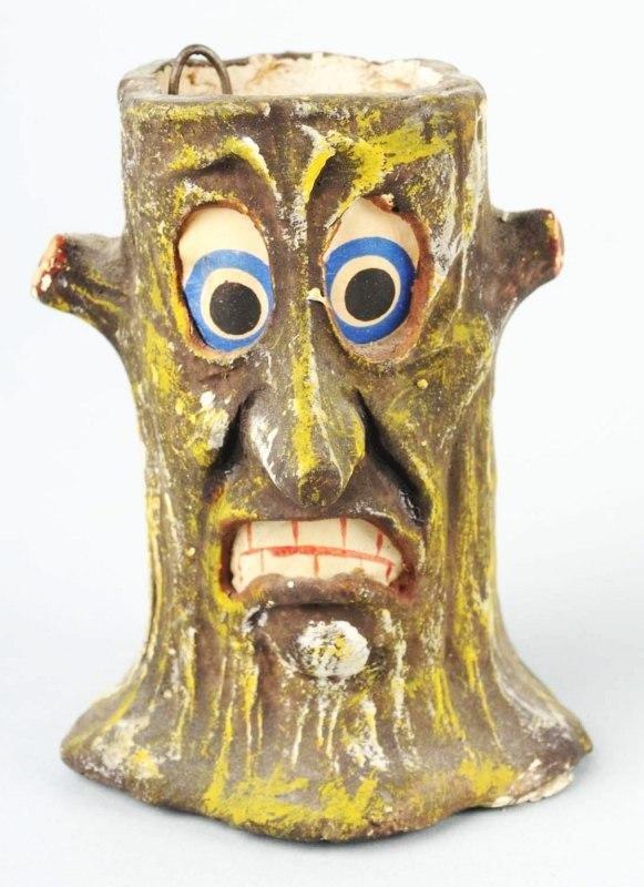 20: Bizarre Tree Trunk Halloween Lantern.