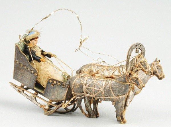 447: Rare German Dresden Ornament.