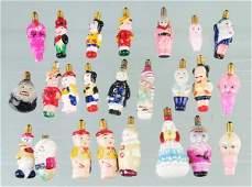 773 Lot of 20 Figural Christmas Light Bulbs