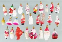 775 Lot of 25 Figural Christmas Light Bulbs