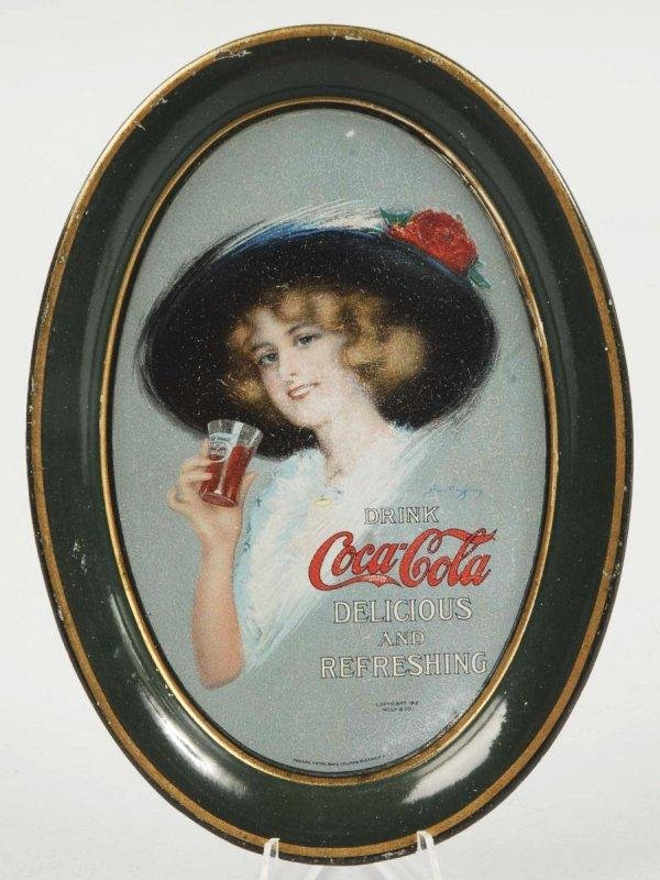 3: 1913 Tin Coca-Cola Change Tray.