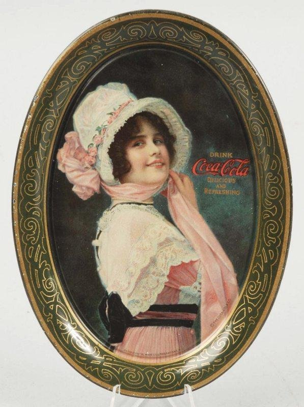 4: 1914 Tin Coca-Cola Change Tray.