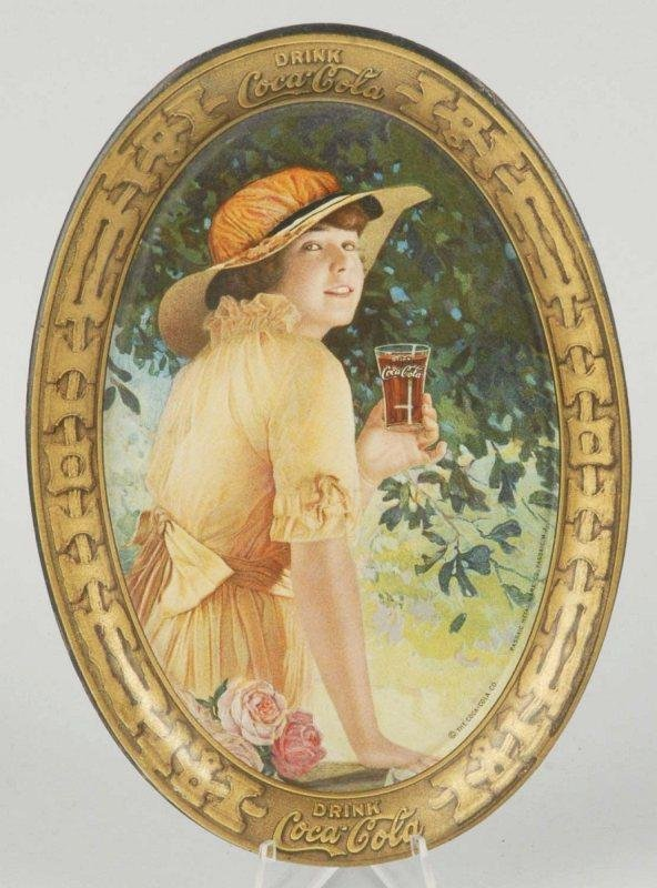 5: 1916 Tin Coca-Cola Tip Tray.