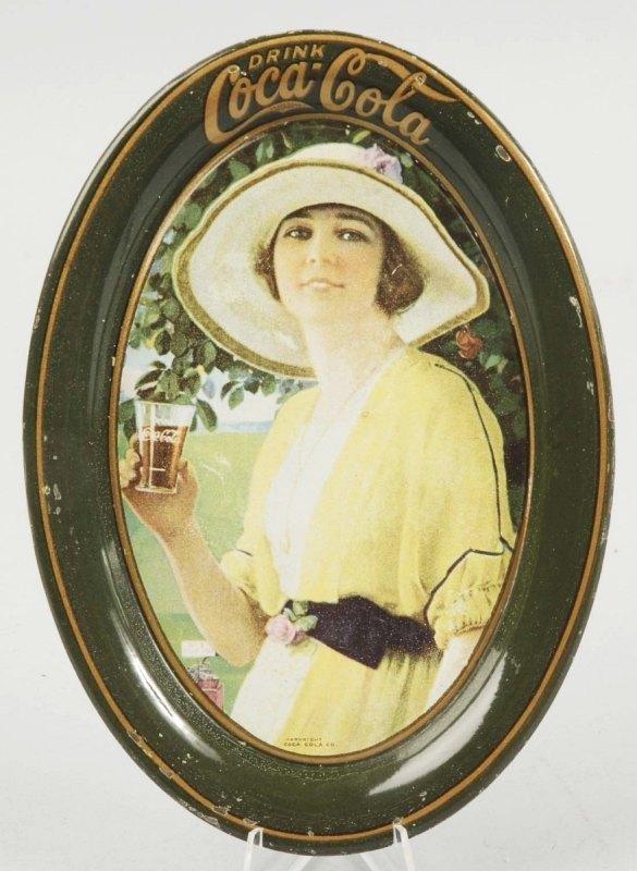 6: 1920 Tin Coca-Cola Change Tray.