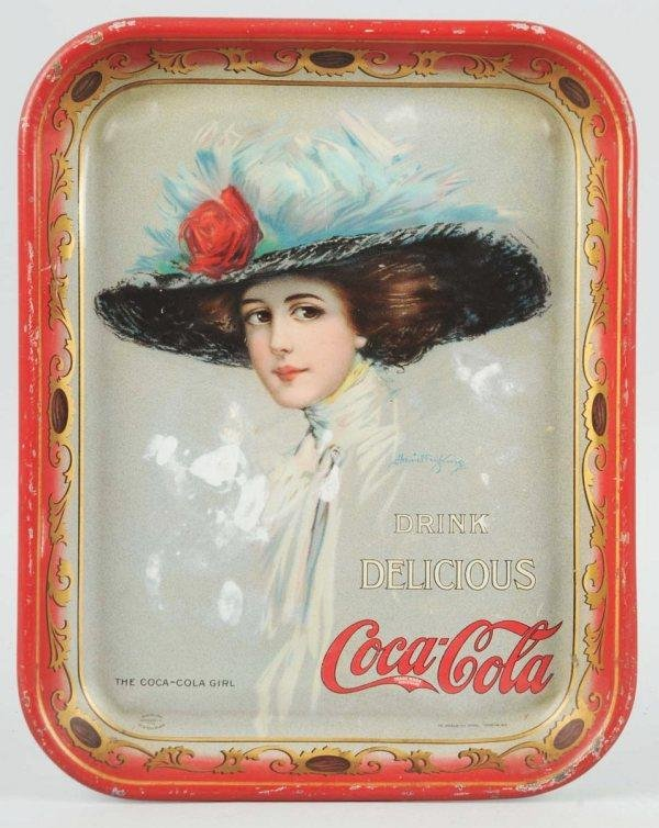 11: 1910 Tin Coca-Cola Serving Tray.