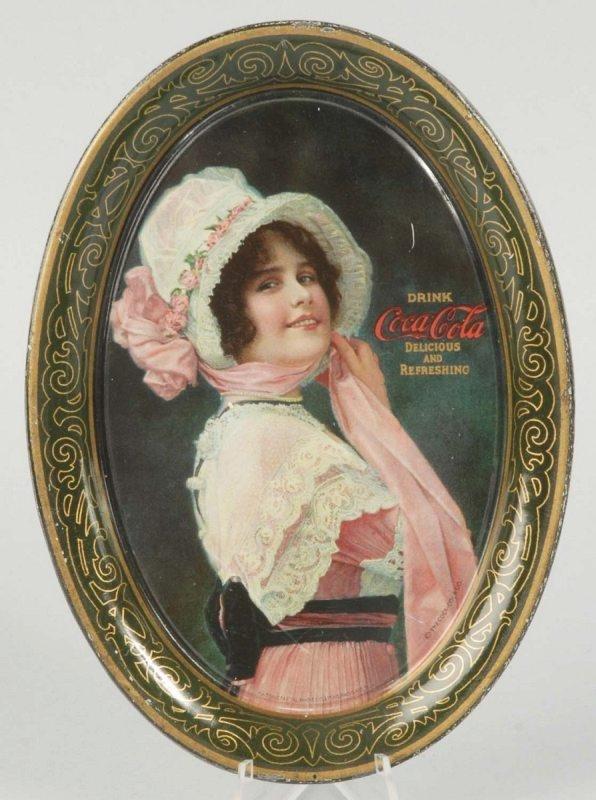 16: 1914 Tin Coca-Cola Tip Tray.