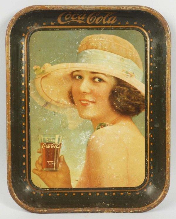 20: 1922 Tin Cola-Cola Serving Tray.