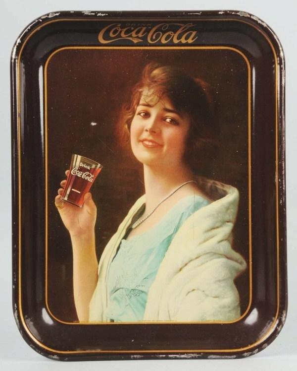 21: 1923 Tin Coca-Cola Serving Tray.