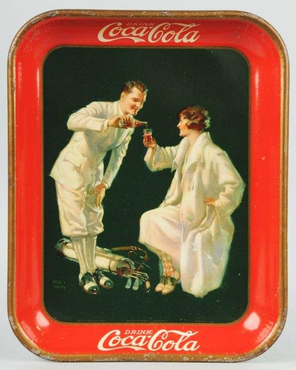 24: 1926 Tin Coca-Cola Serving Tray.