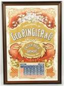158 Geo Ringler  Co Beer Brewers Calendar