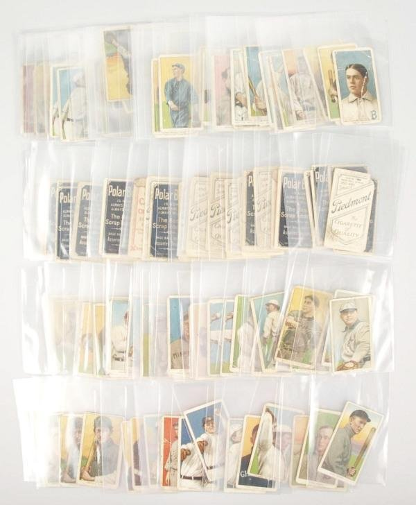 549: Lot of 149:Early T206 White Border Baseball Cards
