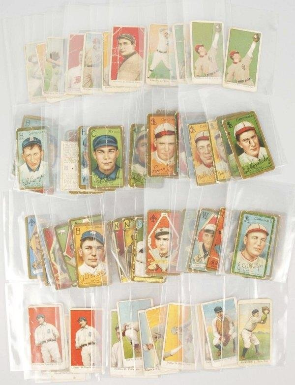 551: Lot of 85: Early Baseball Cards.