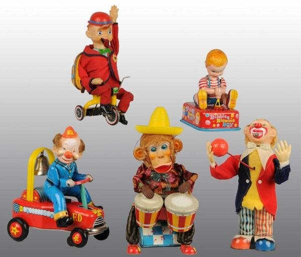 15: Lot of 5: Character Battery-Operated Toys.