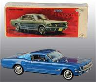 476 Tin Litho Ford Mustang GT Friction Toy