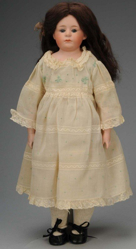 904: Desirable Gebr. Heubach Pouty Child Doll.