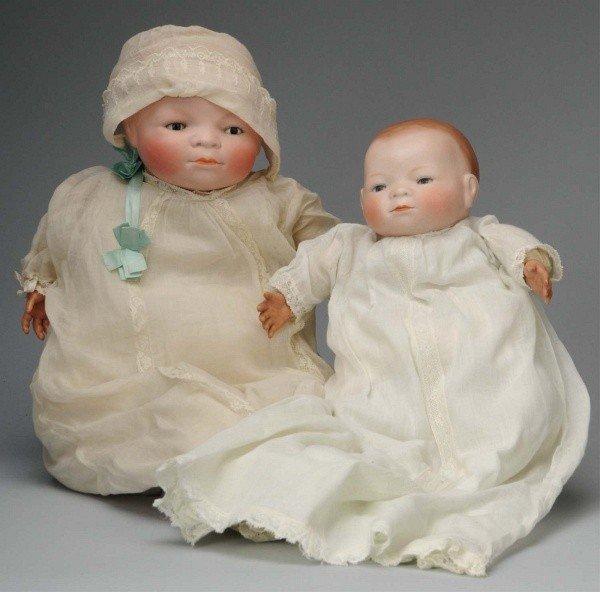 908: Lot of 2: Grace S. Putnam Bye-Lo Babies.