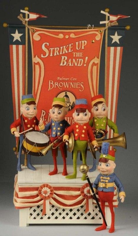 """1246: R. John Wright """"Strike Up the Band"""" Brownies."""