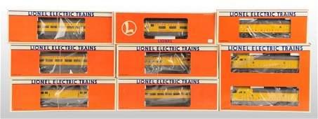 1411: Contemporary Lionel Union Pacific Train Set.