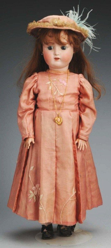 13: Alt, Beck & Gottschalk German Bisque Child Doll.
