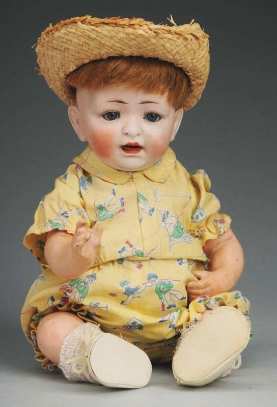 17: Hertel, Schwab & Co. German Bisque Character Baby