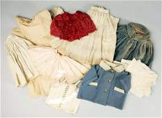 257 Lot of Vintage Doll Clothes