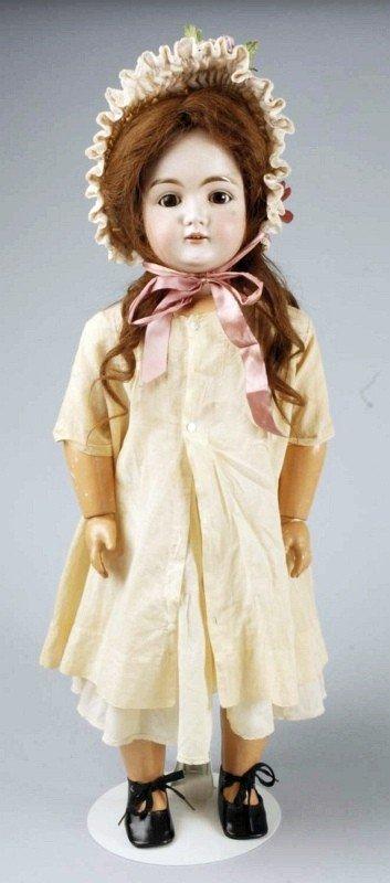 420: Large J. D. Kestner German Bisque Child Doll.