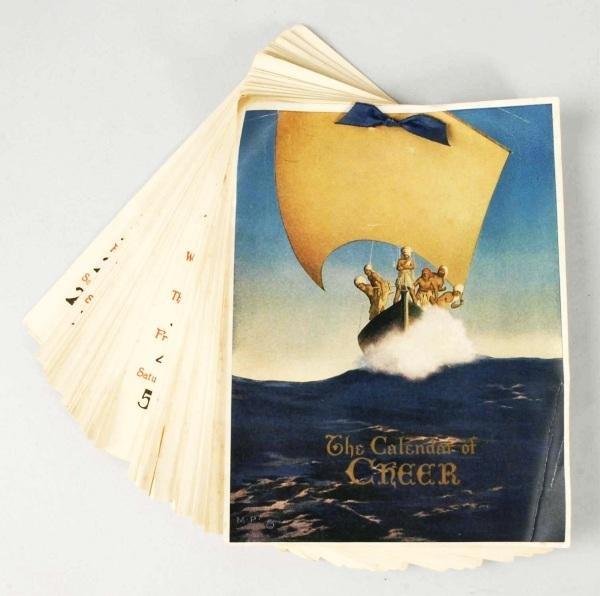 15: Calendar of Cheer 1926 Calendar.