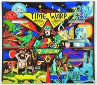 164: Glass from Time Warp Pinball Machine Game.